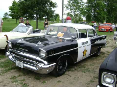 Limited edition 1957 Chevrolet Bel Air police car - YouTube