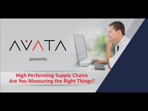 High Performing Supply Chains - Are you measuring the right things FINAL