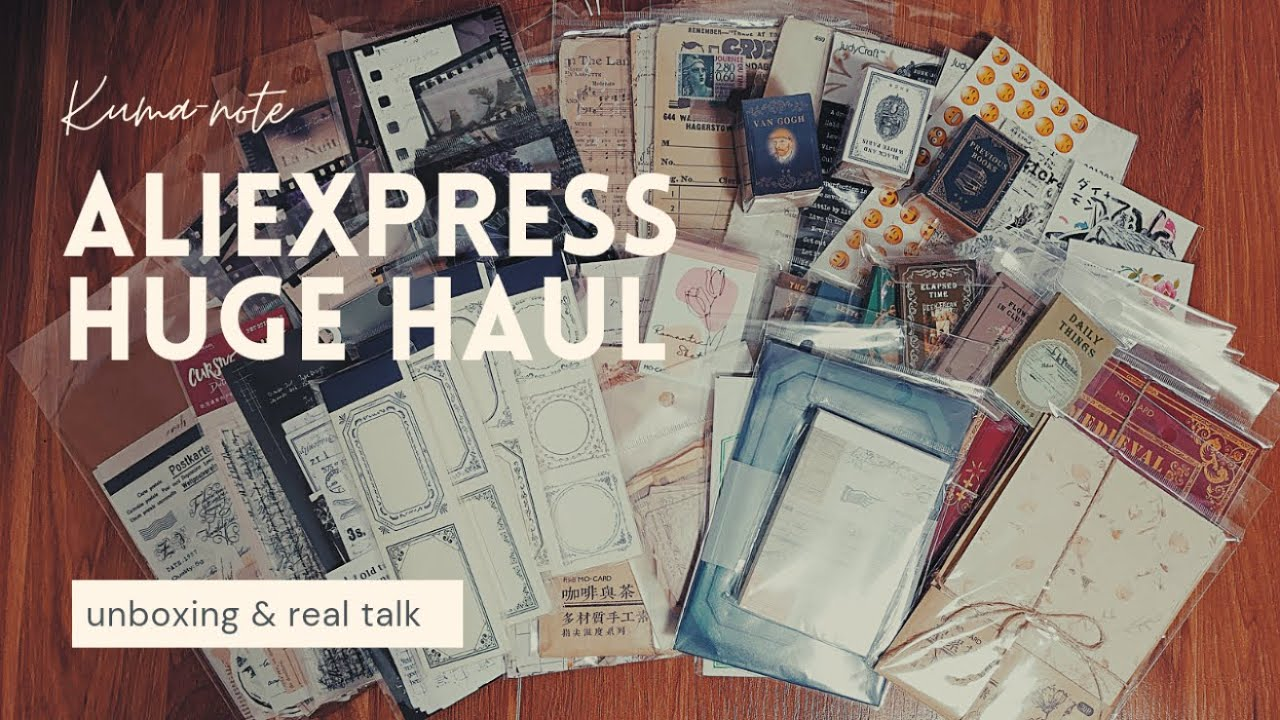 *⋆⸜ AliExpressでお買い物⸝⋆* ▶AliExpress haul/unboxing/初めて利用した感想など✨送料についての追記あり
