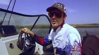 Рыбалка на Васильевских островах Новая лодка Krafter FishDeck 510 Yamaha 115