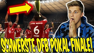 FIFA 17 KARRIEREMODUS - SCHWERSTE DFB POKAL FINALE! ⚽⛔️😝 - GAMEPLAY BAYERN KARRIERE (DEUTSCH) #92