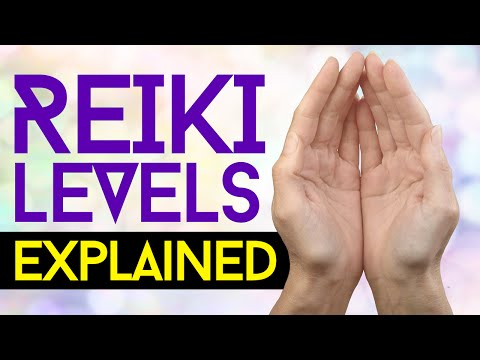 Reiki Levels Of Attunement EXPLAINED!