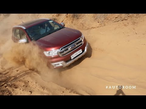 Off roading with Ford Endeavour 4X4 3.2 AT...