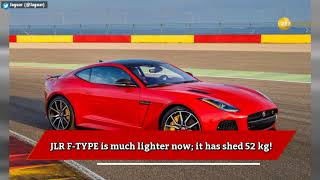 Jaguar Land Rover F-TYPE sports car now in India