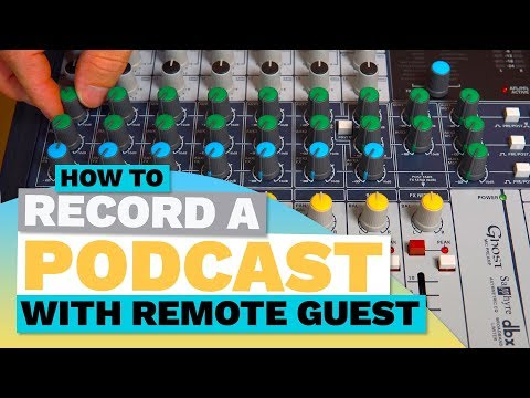 How to Record a Podcast with Remote Guest - Simple Mix Minus / Clean Feed Tutorial