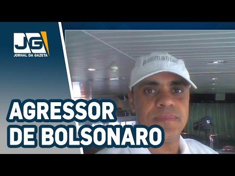 Agressor de Bolsonaro preso em flagrante