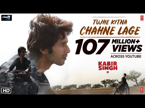 Tujhe Kitna Chahne Lage status Song video download Kabir Singh