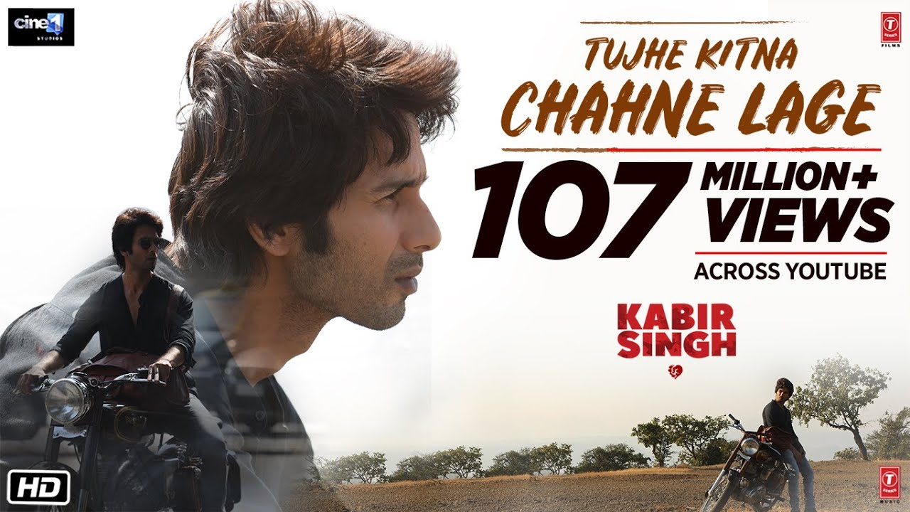 Kabir Singh Tujhe Kitna Chahne Lage Out Arijit Singh Song Is Next
