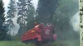 feu de forêt pompiers Airmatic RED Rescousse Éteindre Défendre incendie de forêt