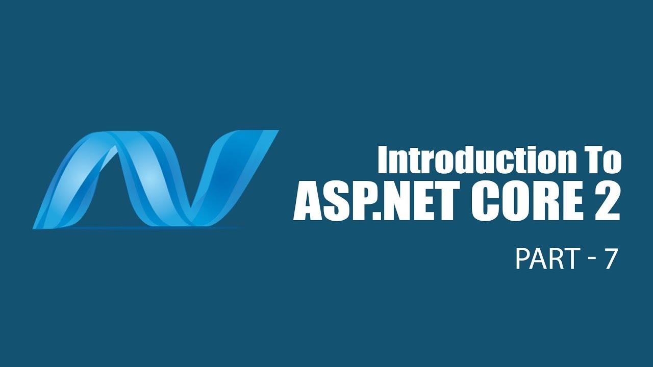Introduction to ASP NET Core 2 | Razor Pages | Part 7 | Eduonix