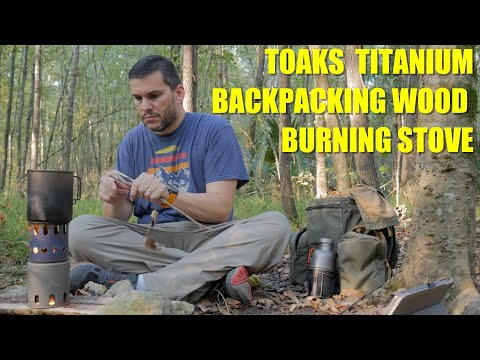 WORTH THE MONEY? - Toaks Titanium Wood Stove