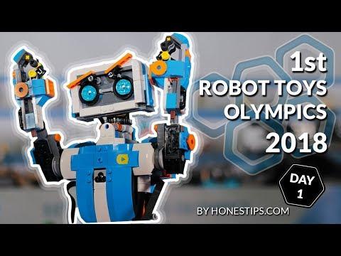1st Robot Toys Olympics 2018 : robotics