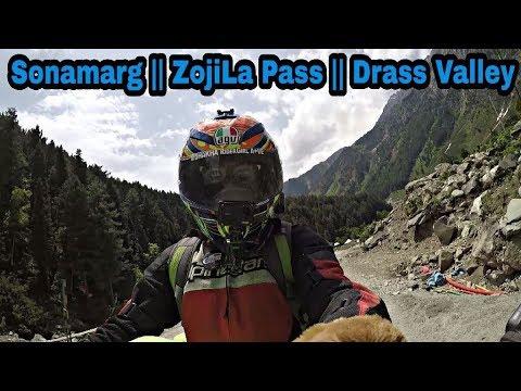 Srinagar    Sonamarg    ZojiLa Pass   Drass Valley    Kargil War Memorial