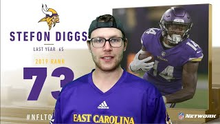 Rugby Player Reacts to STEFON DIGGS (WR, Vikings) #73 The NFL's Top 100 Players of 2019!