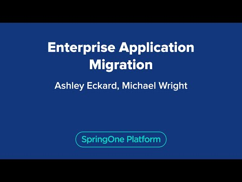 Enterprise Application Migration