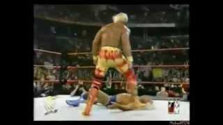 Stone Cold Steve Austin helps Hulk Hogan WWF