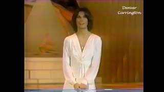 John Forsythe and Kate Jackson on ABC's 25th Anniversary Special