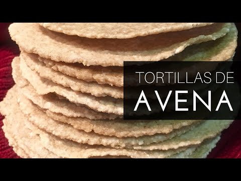 TORTILLAS DE AVENA SUPER FÁCILES | By  Visan