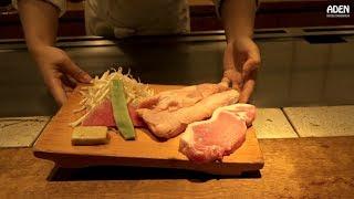 High-end Chicken & Pork Teppanyaki - Tokyo Lunch Japan