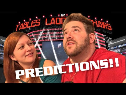 WWE TLC PPV PREDICTIONS FUNNIEST BET EVER GRIM AND HEEL WIFE VLOG!