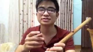 Bùi Công Thơm - bèo dạt mây trôi, clip dạy kĩ thuật sáo trúc