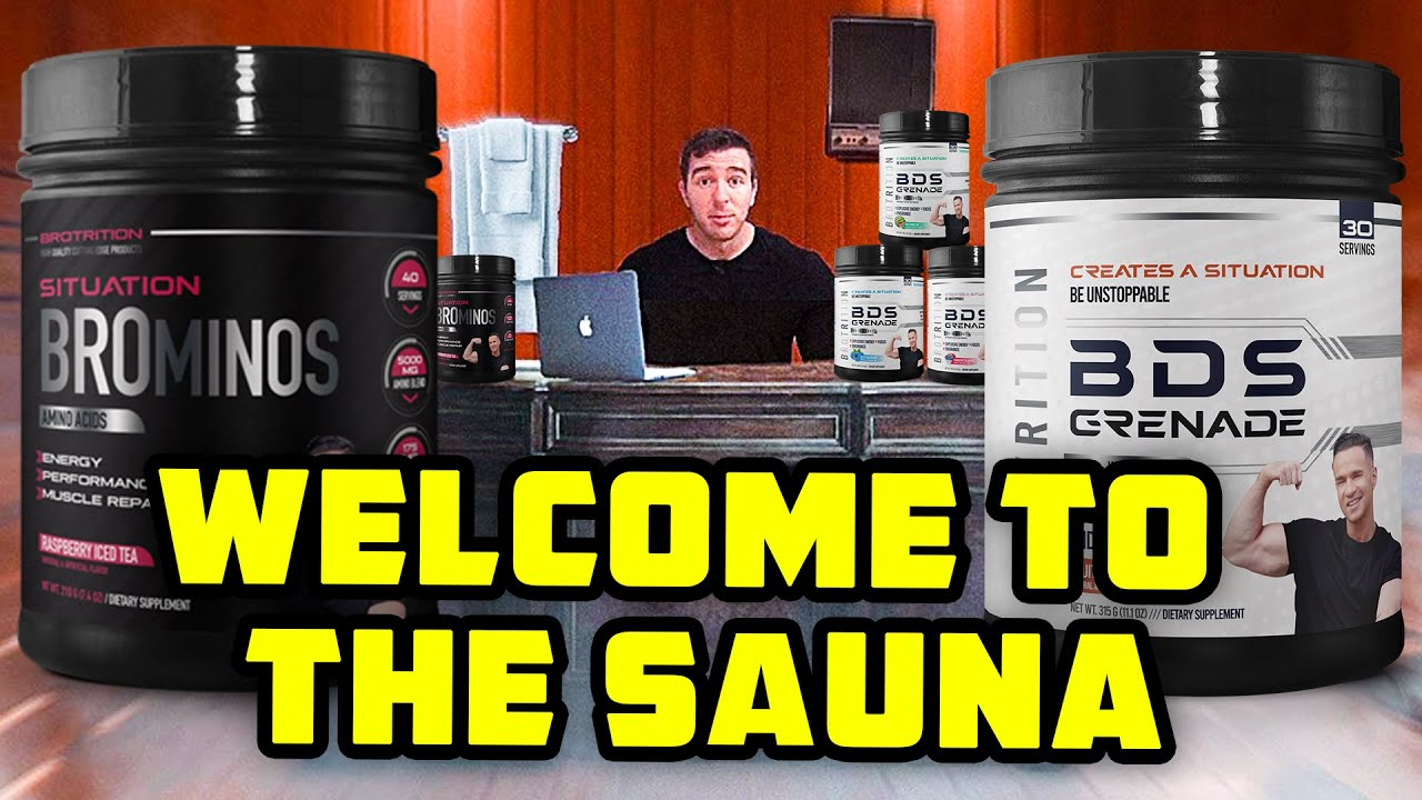 The Situation Launches A Pre-Workout... WELCOME TO THE SAUNA