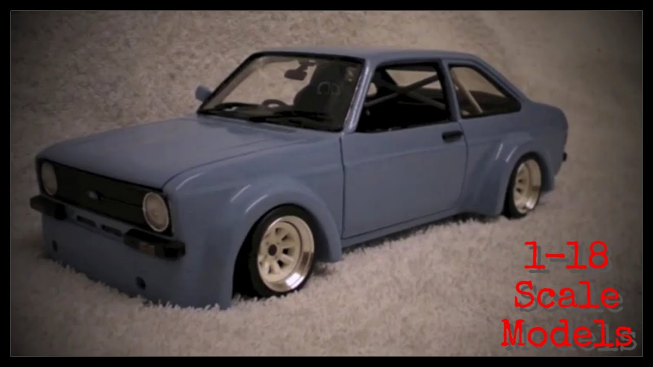 1/18 Scale Modified Models - YouTube