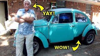 VW Beetle Floor Pan Replacement Reveal to Owner - Walkaround thumbnail