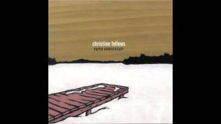 Watch Christine Fellows Vertebrae video