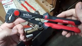 wiha 10 inch Water Pump Pliers Review.