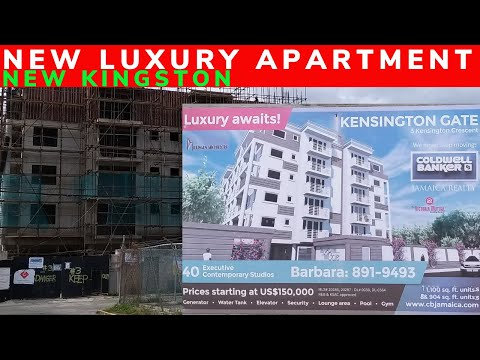 NEW LUXURY APARTMENT CONSTRUCTION IN NEW KINGSTON  ||  THE KENSINGTON GATE  ||  KINGSTON || JAMAICA