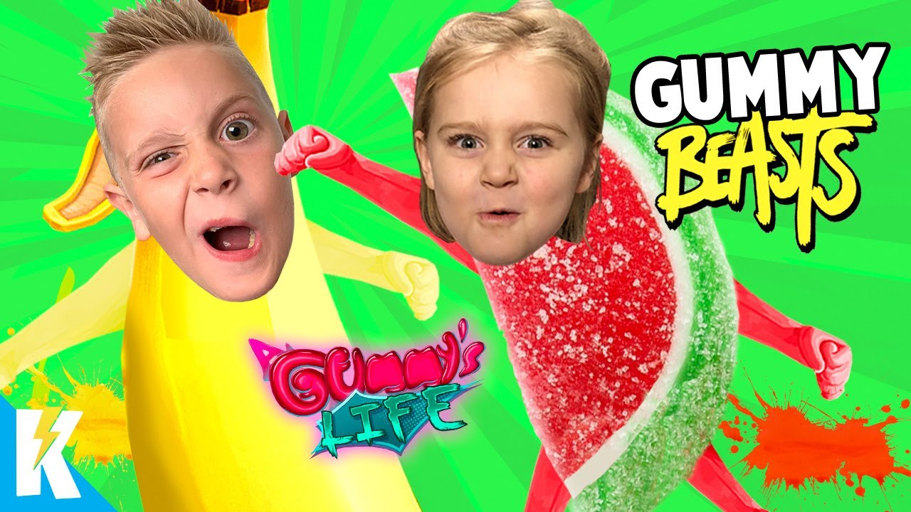 Download Gummy Gang Beasts!? A Gummy's Life Family Battle! K-City GAMING