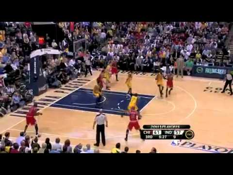 Indiana Pacers vs Chicago Bulls - Game 4 - 23/04/2011