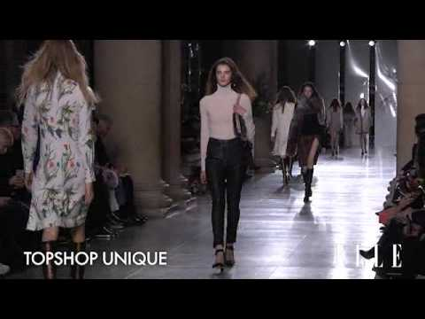 Topshop Unique. London Fashion Week. Otoño / Invierno 2015-2016 | Elle España