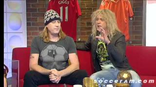 Joe Elliott and Rick Savage on Soccer A.M.
