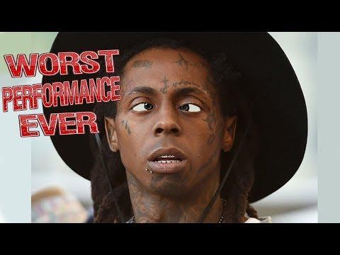 Lil Wayne - Worst Performance Ever - SHREDS