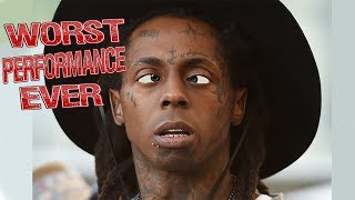 Lil Wayne - Worst Performance Ever - SHREDS