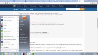 Creating a Joomla module