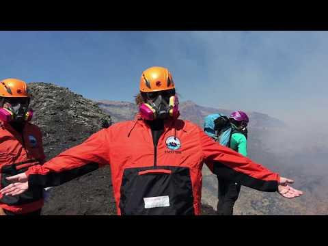 Villarrica active volcano climb, Chile