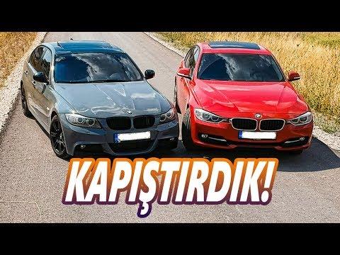 """BMW 320D """"E90"""" vs """"F30"""" I Kapıştırdık! 0-120 80-120 60-140"""