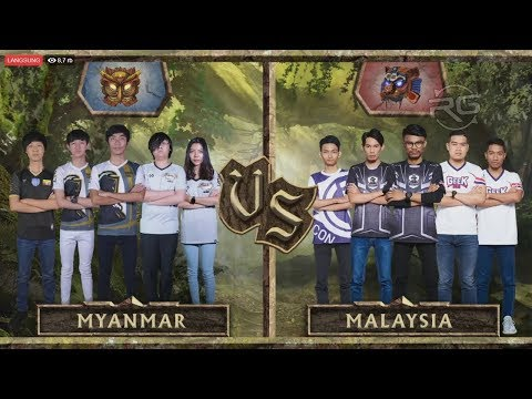 Epic Match ! Allstar Malaysia vs Allstar Myanmar - Mobile Legends