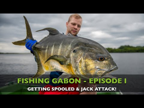 FISHING IN GABON - EPISODE I - GETTING SPOOLED!