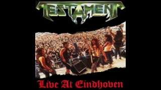 TESTAMENT - Live at Eindhoven (EP) 1987