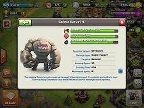 Upgrading to Golem!!!Dark Barracks Lvl 4:)