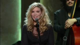 "Jamey Johnson and Alison Krauss sing ""Seven Spanish Angels"" live  in Washington D. C. in HD."