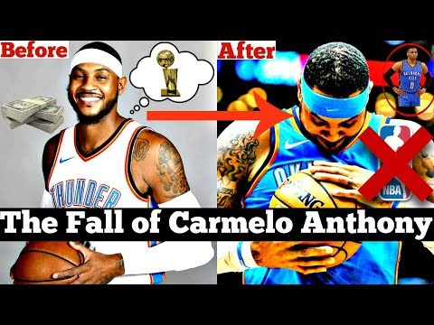 The Fall of Carmelo Anthony From NBA AllStar to COMPLETE SCRUB?