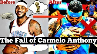 The Fall of Carmelo Anthony... From NBA All-Star to COMPLETE SCRUB?