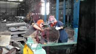 Compactadora de Chatarra Fundición Metalnorte