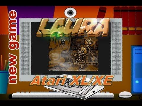 Atari XL/XE new game -=LAURA=-