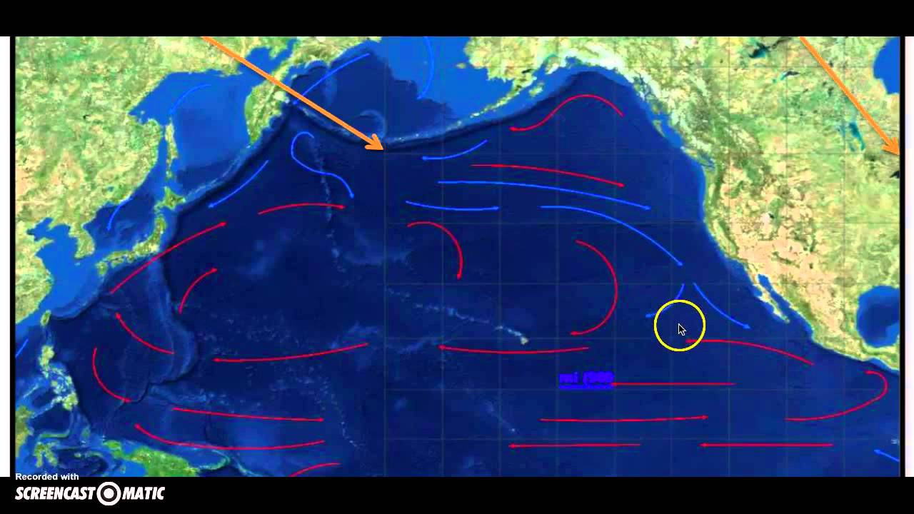 Pacific Ocean Currents Screencast - YouTube